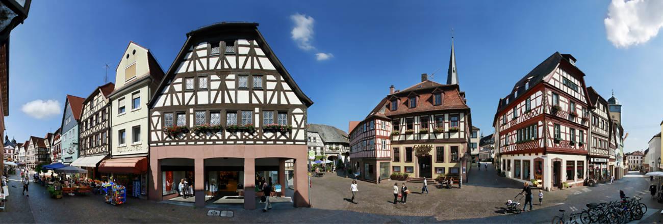 Stadtf hrungen in lohr a main for Heimbach lohr am main